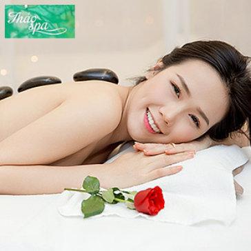 (80') Massage Body Thư Giãn Kết Hợp Đá Nóng + Làm Sáng Da Mặt Oxy...