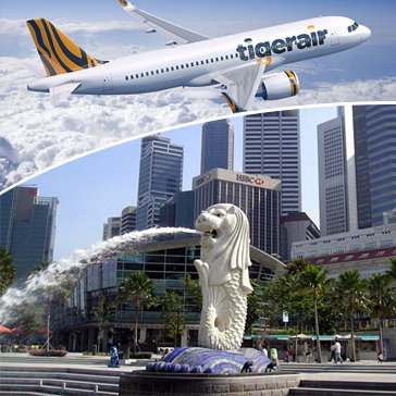 Tour Hà Nội – Singapore – Đảo Sentosa 4N3Đ - Bay Tiger Airways Cho 1 Người