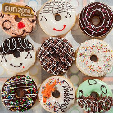 Combo 06 Bánh Donut Thơm Ngon Tại Funzone Donuts