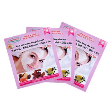 Combo 3 Gói Tắm Trắng Face Mật Ong, Nấm Linh Chi, Oliu 100g
