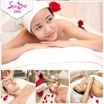 Massage Body Đá Nóng + Chăm Sóc Da Mặt 4 Dịch Vụ Kết Hợp Tại...