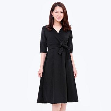 Đầm Cổ Vest Thanh Lịch