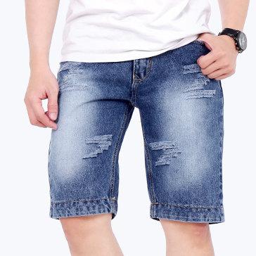Quần Short Jeans Nam Thời Trang HD