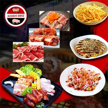 Buffet Nướng Kiểu Nhật Tại Koishi BBQ
