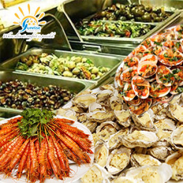 Buffet Trưa Cao Cấp Tại Ks 3 Sao Sunrise Central Hotel