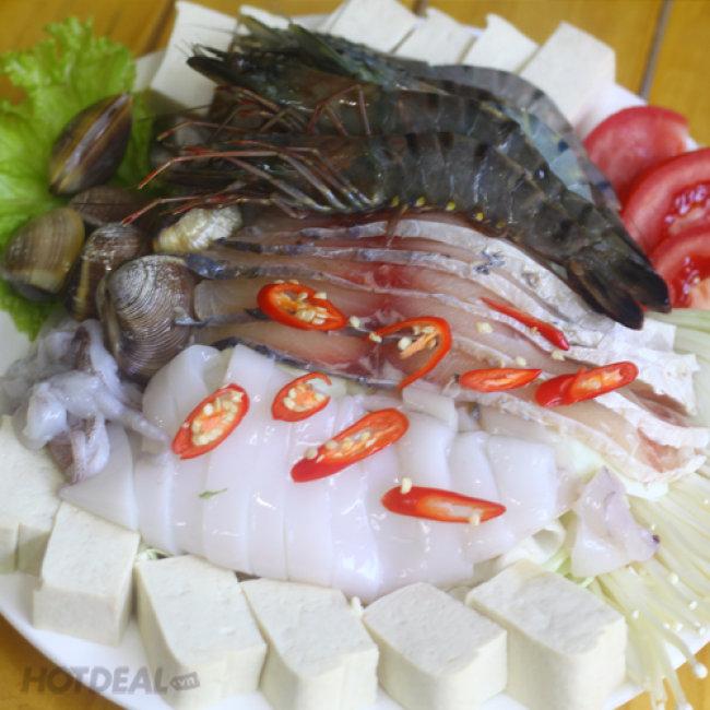 Lẩu Gà Nấm/ Lẩu Thái Hải Sản Siêu Hấp Dẫn Tại Lâm Vũ Quán