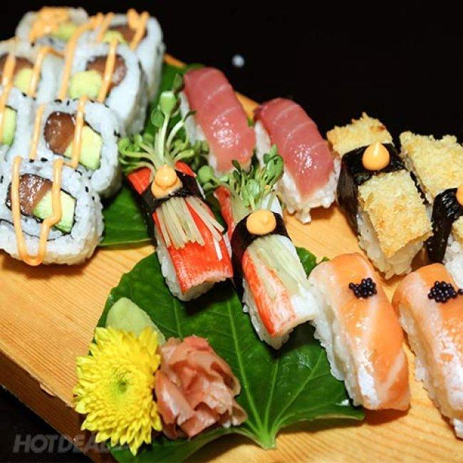 Set Menu Đặc Biệt Cho 2 Người Tại Ngọc Sushi