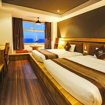 Seasing Hotel 4* Nha Trang - 2N1Đ - Phòng Deluxe Seaview - Có Hồ Bơi - Bãi Biển Riêng - Không Phụ Thu Cuối Tuần