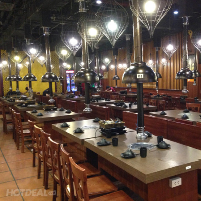 Buffet Nướng Lẩu Menu VIP, Không Phụ Thu, Free Coca, Nhiều Món Mới-...