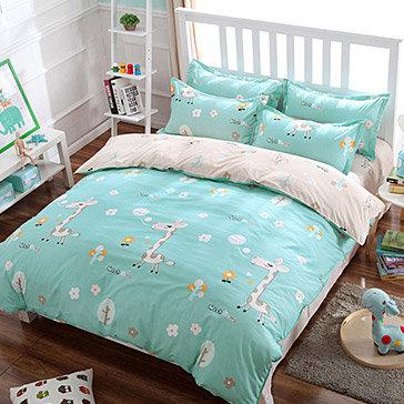 Bộ Drap Cotton Poly Kèm Mền Mát Lạnh Hàn Quốc 1m8x2m Bộ 4