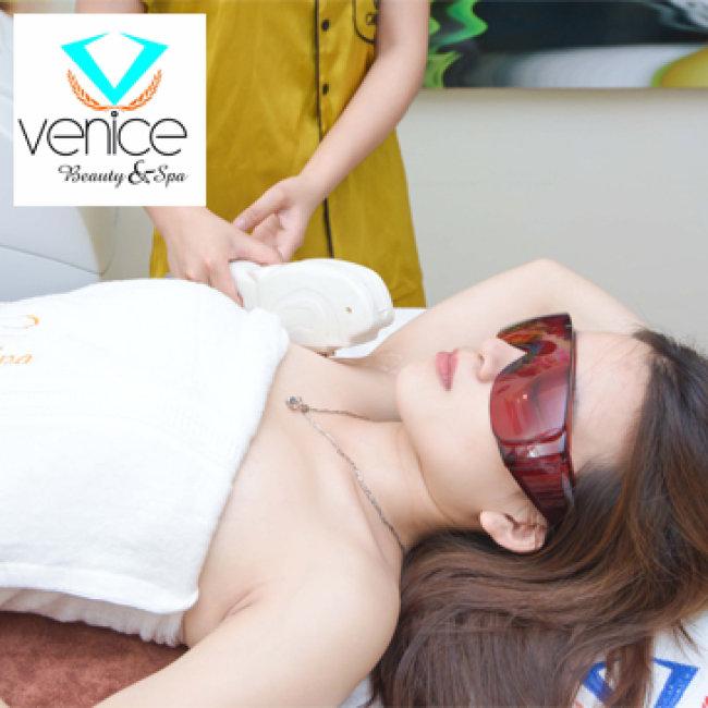 Trọn Gói Triệt Lông Đến Hết - 6 Buổi Tại Venice Beauty & Spa