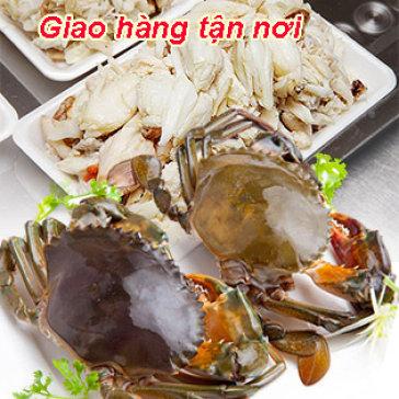 250gr Thịt Cua Lột Sẵn Cam Kết 100% Tươi Ngon, Nguyên Chất - Giao Hàng Tận Nơi - Cua Út Kiệt