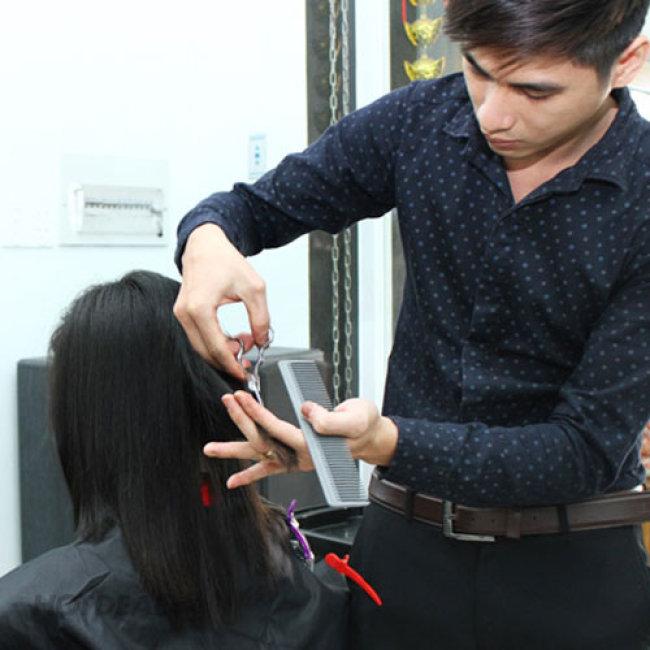 Hair Salon LaLi - Uốn/ Duỗi/ Nhuộm + Cắt + Gội + Sấy Bằng Thuốc...