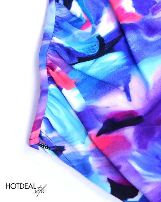 Đồ Bơi Xoắn Ngực Nhún 2 Bên Sườn Lan Hạnh