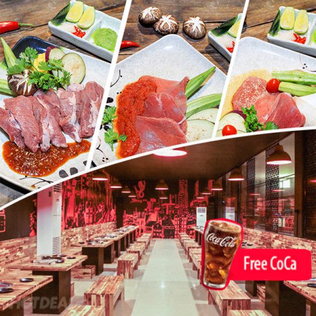 Buffet Nướng Lẩu Đẳng Cấp Tại Sing Restaurant - Free Coca Tươi