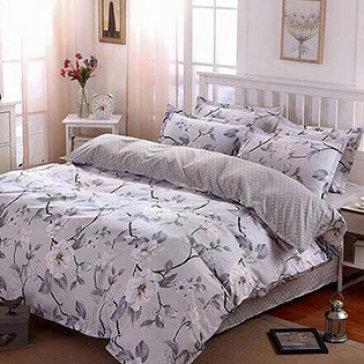 Bộ Drap Gối Mền Cotton Polyester Hàn Quốc 1.6M BST - Lys At Home