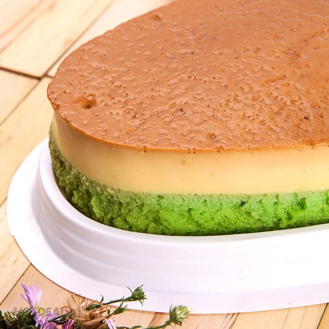 Bánh FLan Gato Vị Trà Xanh Hoặc Chocolate Hình Oval Tại Michi Bakery...