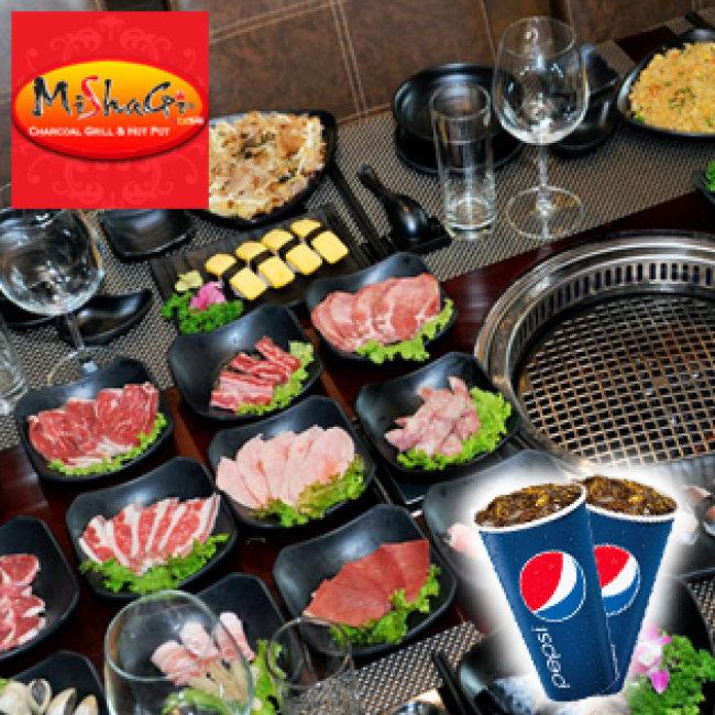 Buffet Nướng Không Khói - Free Pepsi Tại Nhà Hàng Mishagi