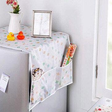 Tấm Phủ Bảo Vệ Tủ Lạnh Có Túi 2 Bên