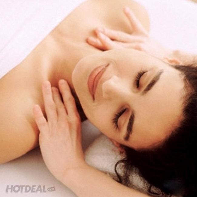Massage Thải Độc, Thư Giãn Toàn Thân Đá Nóng Tại Mandarin Spa