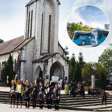 Vé Xe Bus Hà Nội - Sapa Khứ Hồi  - Cho 01 Người