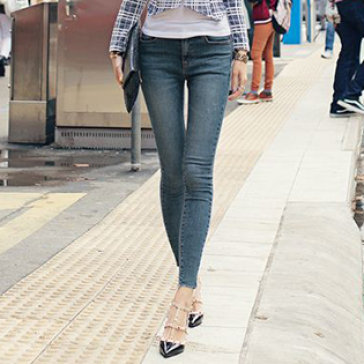 Quần Jeans Nữ Thời Trang HD