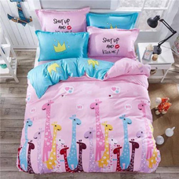Bộ Drap Gối Cotton Polyester HQ 1.6m BST 03 - Lys At Home