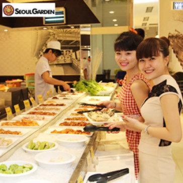 Seoul Garden - Buffet Trưa/ Tối Nướng & Lẩu Không Khói - Thứ 2 Đến Chủ Nhật