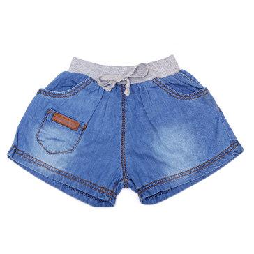 Quần Short Jeans Lưng Thun Xám Nanio (1-8)