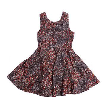 Đầm Bông Sát Nách Hở Lưng Nanio (3 Size)