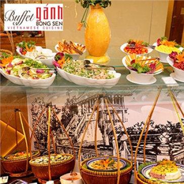 Buffet Tối 3 Miền Các Ngày Trong Tuần Tại Buffet Gánh Bông Sen - Gala Center