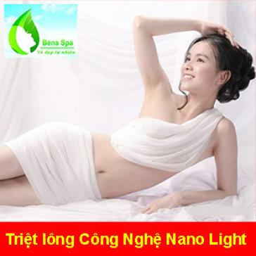 10 Lần Triệt Lông Vĩnh Viễn Nách/ Mép/ Body- KHông Đau, Rát - BH 2 Năm Tại Bena Spa