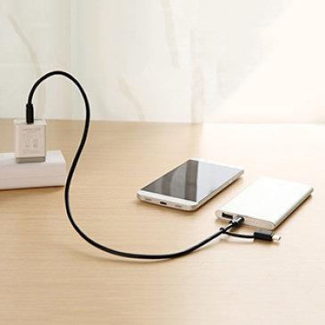 Cáp Sạc Full Speed 2 Đầu Lightning - Micro USB