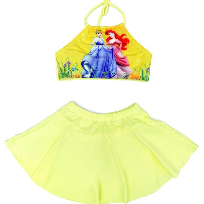 Đồ Bơi Bé Gái Chân Váy + Áo Yếm