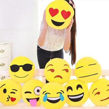 Gối Ôm Và Tựa Lưng Biểu Cảm Emoji Êm Ái Ngộ Nghĩnh
