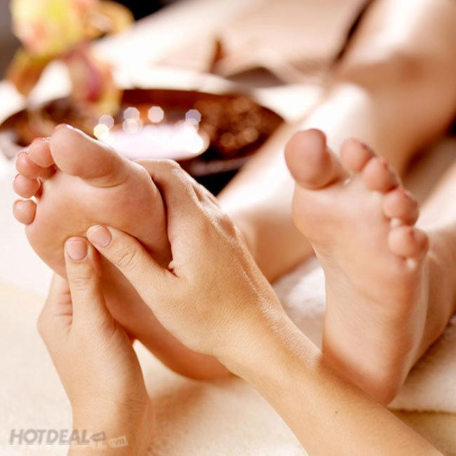 Massage Foot + Body/ Body (75') + Đá Nóng + Xông Hơi + Hồ Jacuzzi Tại...