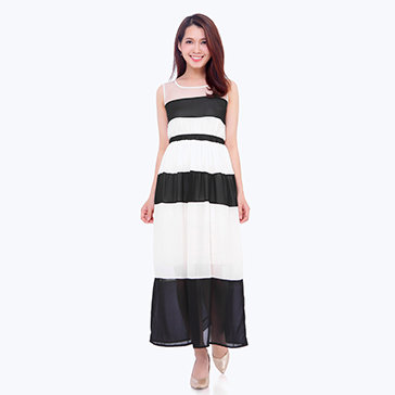 Đầm Maxi Dễ Thương Dạo Phố