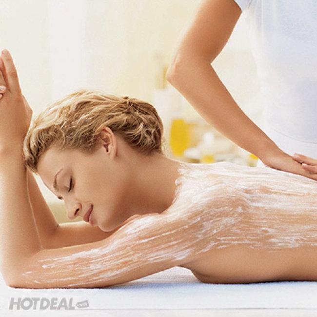 Massage Thư Giãn, Ủ & Dưỡng Ẩm Body, Tẩy Da Chết + Tặng 1 lần...
