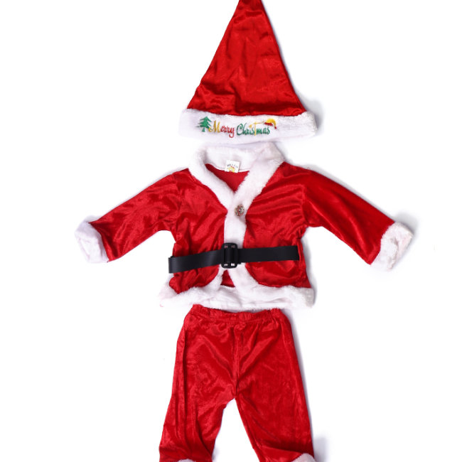Combo Bộ Quần Áo Noel + Nón Noel Cho Bé