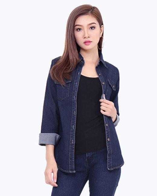 Áo Jean Nữ Style Hàn Quốc
