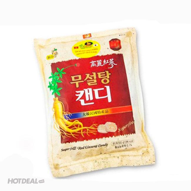 Kẹo Hồng Sâm Không Đường Hàn Quốc 500gr