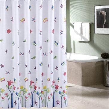 Màn Vải Treo Cửa Sổ, Phòng Tắm Tiện Dụng (180x180cm)