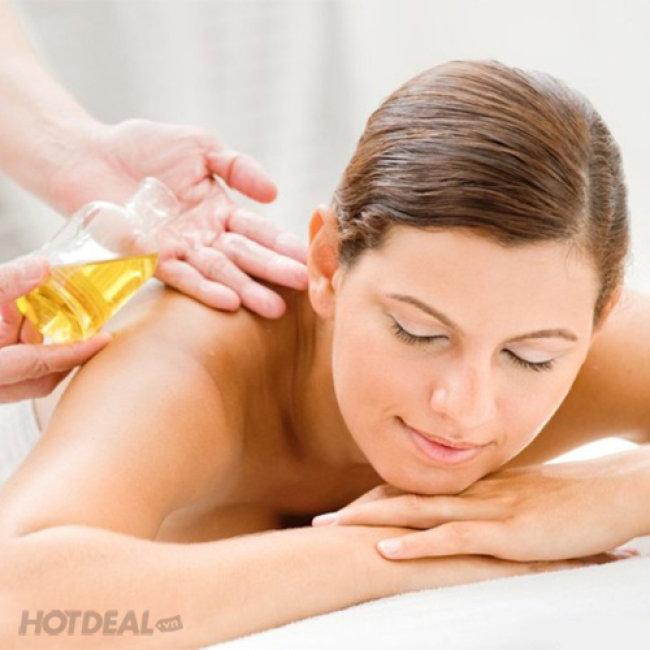 Massage Body Đá Nóng Thụy Điển Tặng Kèm Ngâm Chân Thảo Dược...
