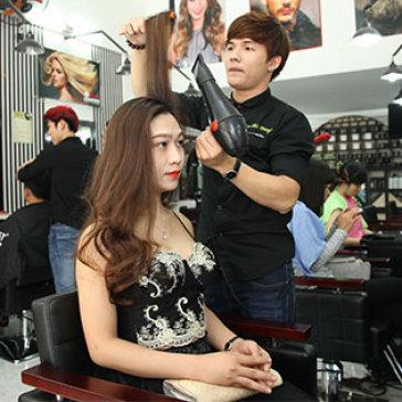 Trọn Gói Làm Tóc Cao Cấp Bằng Galamy - Tặng Hấp Dầu + Đắp Mặt Nạ - Hair Salon Kéo Vàng