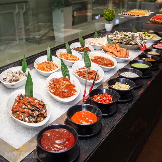 Buffet Nướng - Lẩu - Sashimi & Sushi Nhật Với Hơn 100 Món Tại Nhà...
