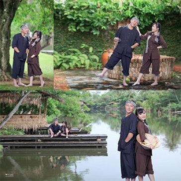 Chụp Hình Trọn Gói + 01 Album 15x15cm Bìa Da (20 Trang, Tính Luôn Bìa) Tại Mai Điền Studio & Bridal