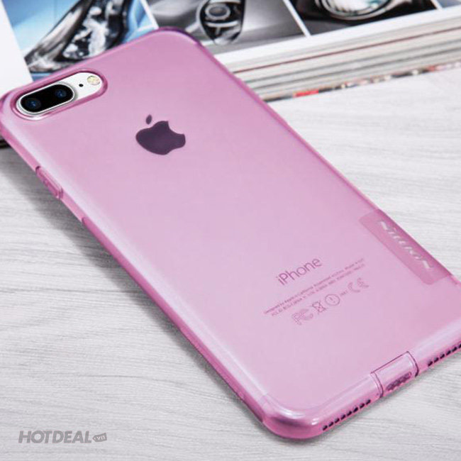 Ốp Lưng Iphone 7 Plus Nillkin Nature TPU Case Dẻo