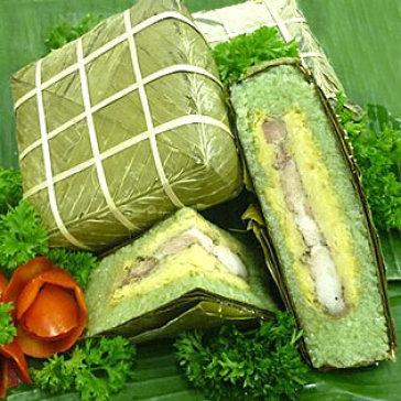 01 Cặp Bánh Chưng Bắc Thương Hiệu Tuấn Ảnh (01 Kg / Bánh)