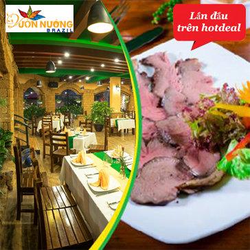 Buffet Đẳng Cấp Thịt Nướng Brazil Tại Vườn Nướng Brazil