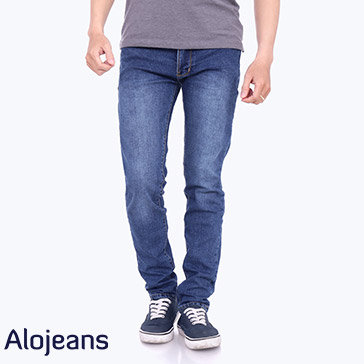 Quần Jean Nam Wash Nhẹ TH Alo Jeans